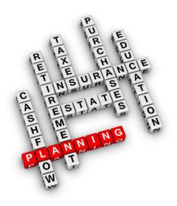 Financial Planning Crossword
